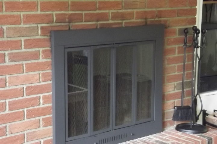 Painting A Br Fireplace Surround Hometalk