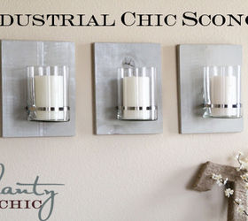 Delicieux Diy Industrial Chic Sconce, Home Decor, Wall Decor