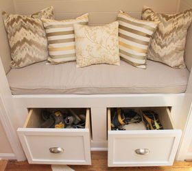 Ordinaire Diy Closet To Entry Bench, Doors, Foyer, Home Decor, Shoe Storage