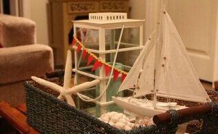 decor a nautical basket, home decor