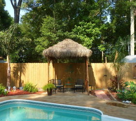 DIY Outdoor Tiki Hut using Repurposed Materials Hometalk
