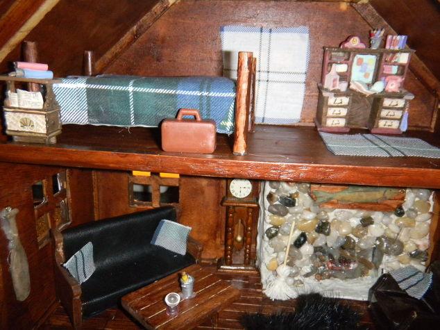 Mini Man Cave Locations : Old doll house turned mini man cave! hometalk