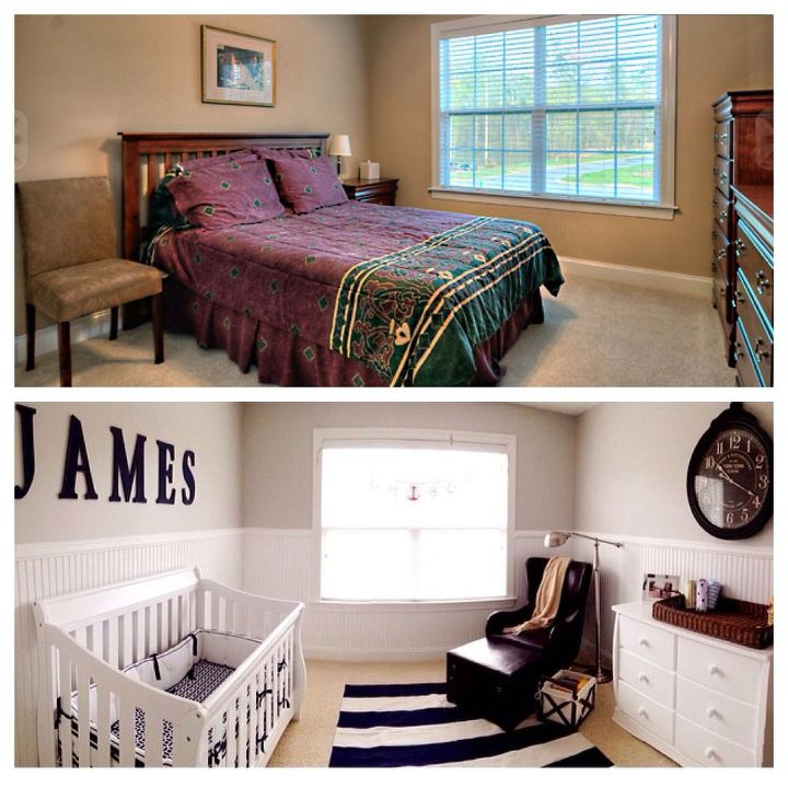 baby nursery makeover, bedroom ideas