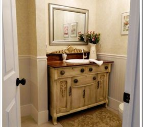 Laundry Room Powder Room, Bathroom Ideas, Home Decor, Laundry Rooms, Powder  Room