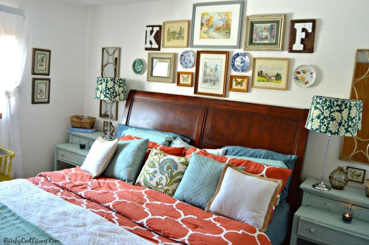 bedroom ideas eclectic cottage, bedroom ideas, home decor, wall decor