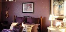 bedroom ideas purple makeover, bedroom ideas, home decor, painting
