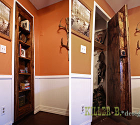 Perfect Hidden Bookcase Door