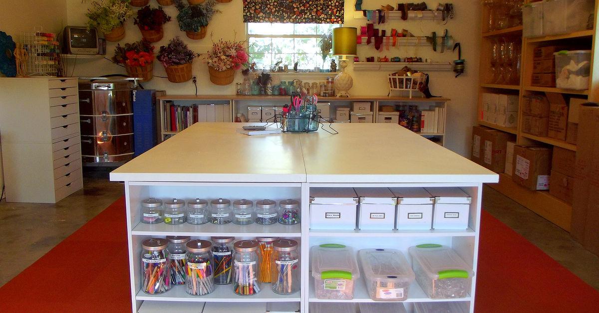 Diy Crafting Table Hometalk