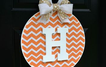 diy fall embroidery hoop wreath, crafts, reupholster, wreaths