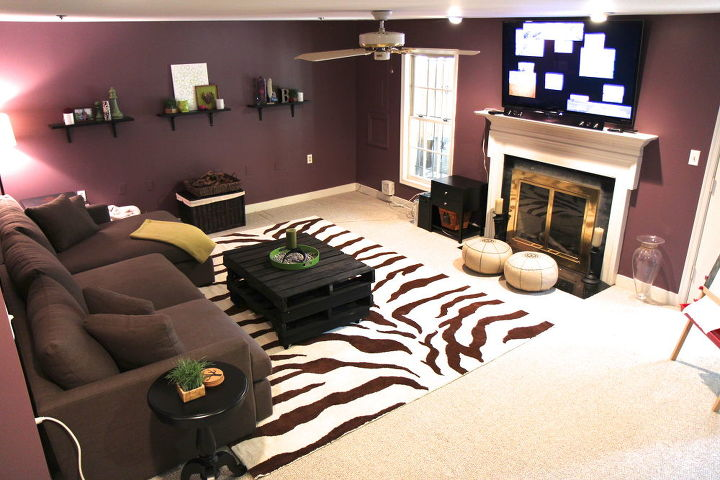 basement ideas for family. dark basement becomes a cozy family room  ideas fireplaces mantels home decor Dark Basement Becomes A Cozy Family Room Hometalk