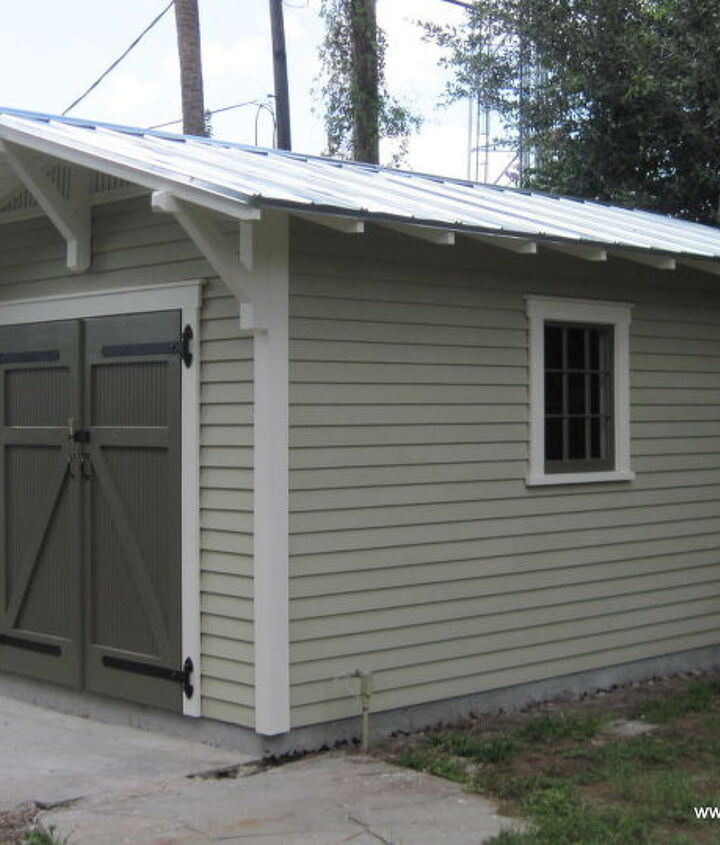 10'x15' Craftsman shed