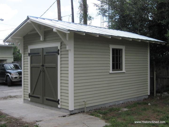 10'x15' Craftsman shed