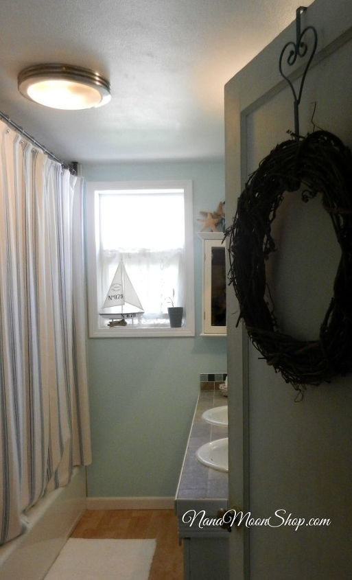 beach inspired bathroom, bathroom ideas, home decor, Beach Inspired Bathroom Decor