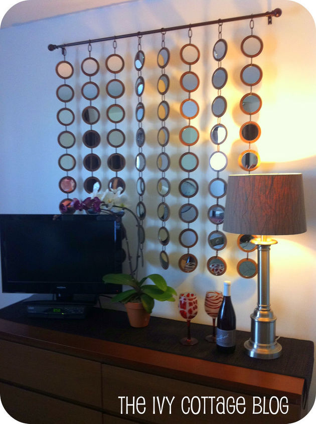 Diy Z Gallerie Mirror Knock Off Crafts Home Decor Finished Hanging On