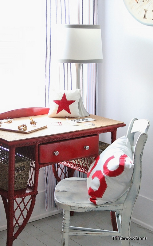 Add cork to a desk top