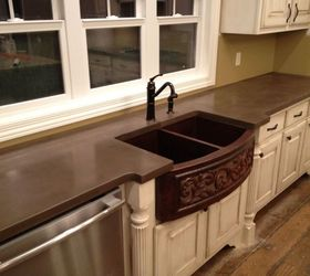 Amazing Concrete Countertops, Concrete Masonry, Concrete Countertops, Countertops,  Kitchen Backsplash, Kitchen Design