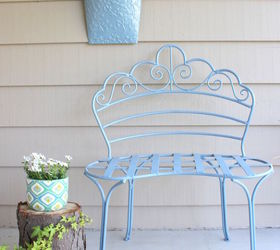 front porch bench makeover outdoor furniture painted furniture porches