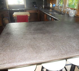Diy Cement Counter Tops Don T Even Think About It Here Is Our, Concrete  Masonry ...