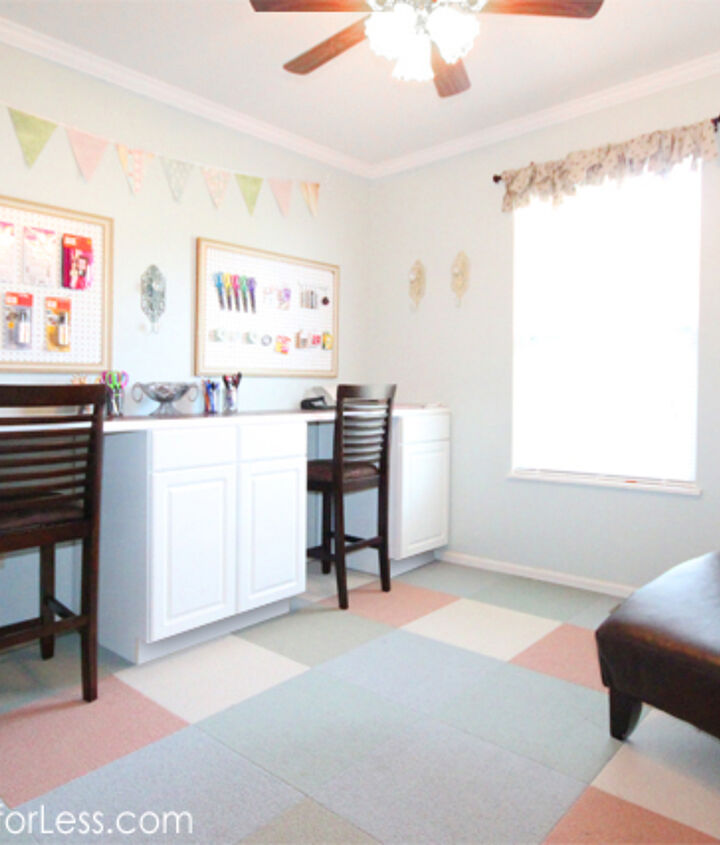 Overall craft room