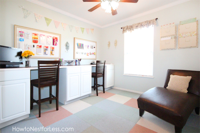 Overall craft room