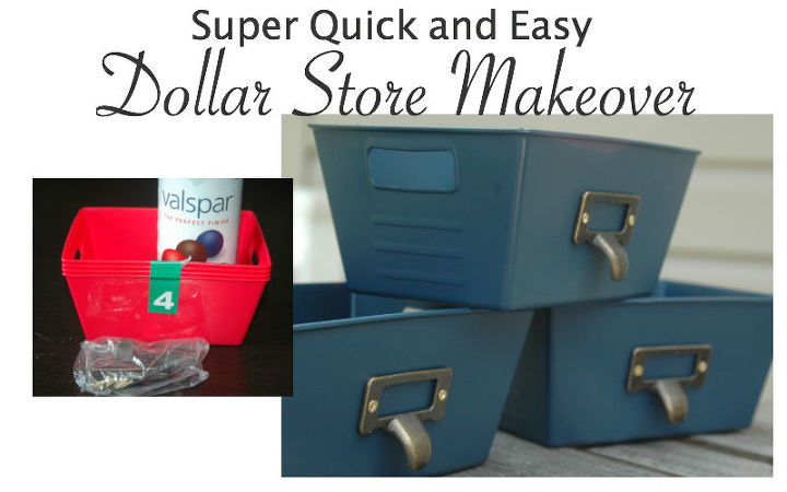 dollar store storage makeover, repurposing upcycling, storage ideas