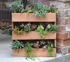 Ordinary Pallet Planter Part - 14: Succulent Cedar Pallet Planter, Diy, Flowers, Gardening, Pallet,  Woodworking Projects