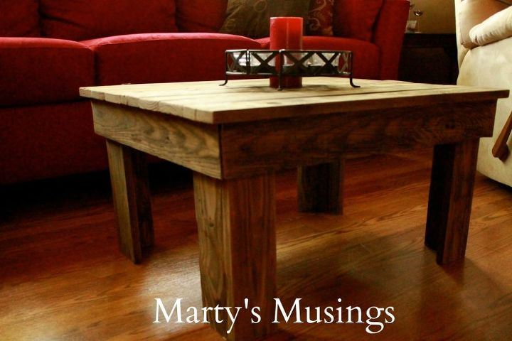 Diy Table Made Of Fence Posts Hometalk