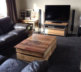 Diy Modern Rustic Inspired Living Room, Home Decor, Living Room Ideas,  Painted Furniture