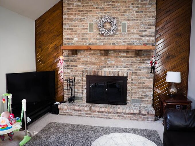 Ideas For Updating Living Room Fireplace And Wetbar Hometalk