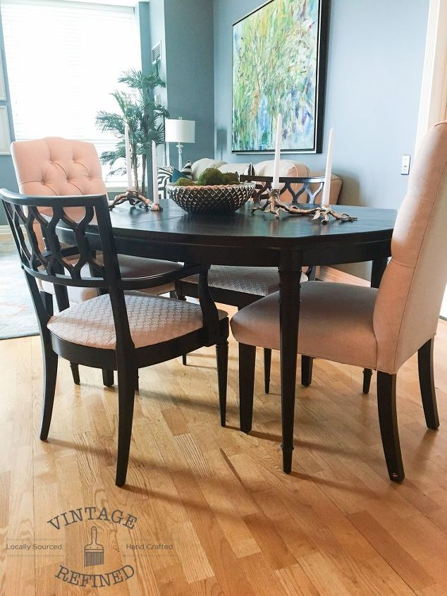 Dining Room Update - Painting Dining Table & Chairs | Hometalk