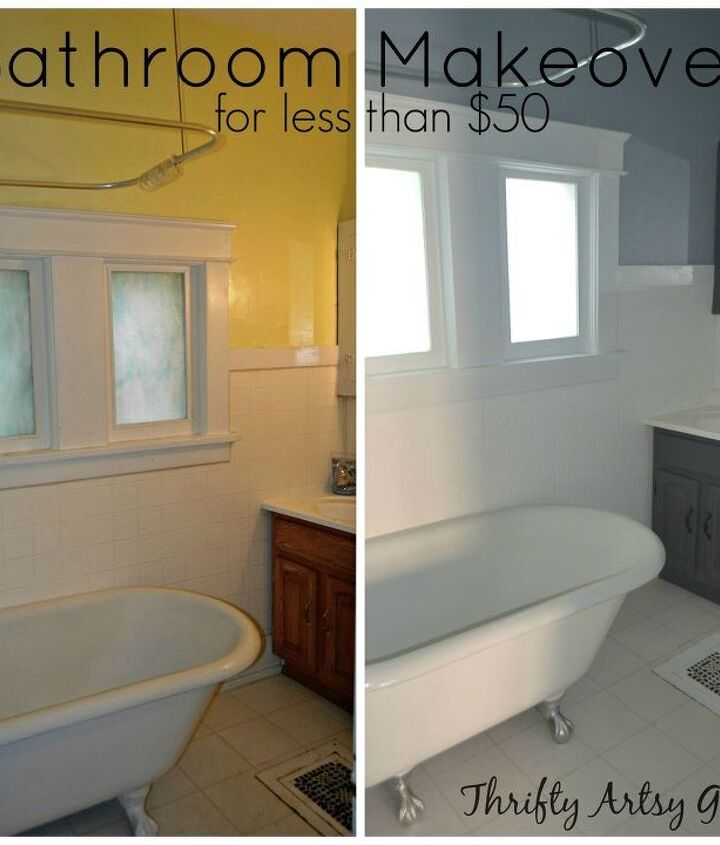 the power of paint shades of grey apartment bathroom reveal paintjob, paint colors, painted furniture, painting