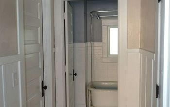 The Power of Paint: Shades of Grey Apartment Bathroom Reveal #PaintJob