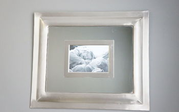 Make a Mirror Picture Frame (using What You Already Have!)