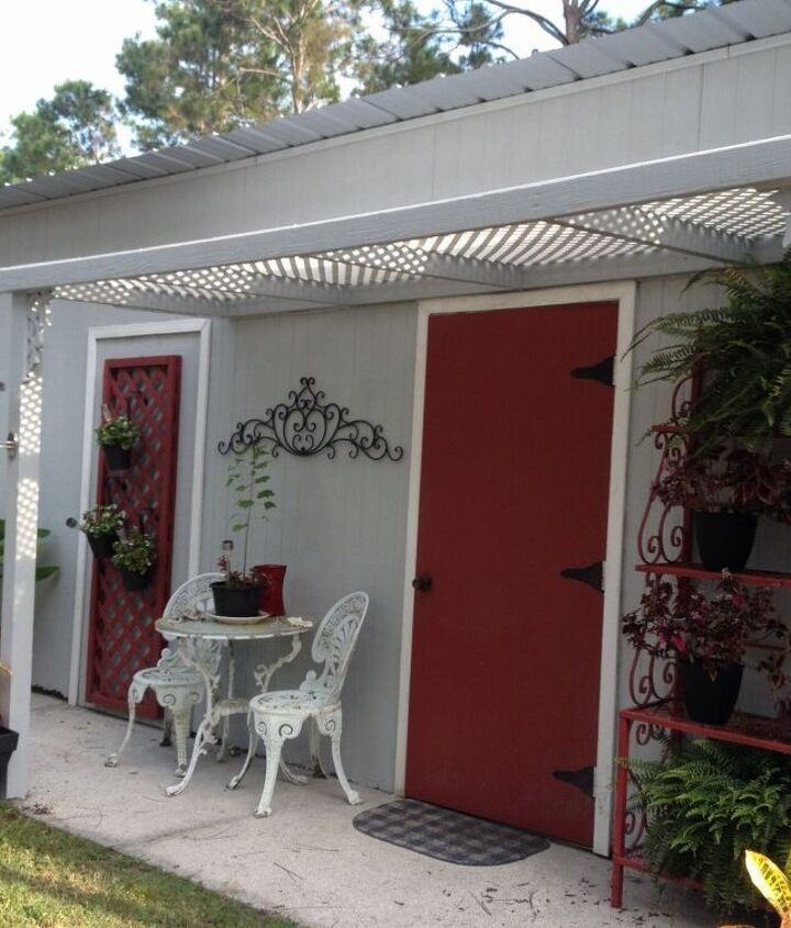 i turned an 18 year old storage shed into a cottage, diy, home decor, home improvement, outdoor living