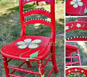 painting a whimsical chair with free pattern painted furniture  sc 1 st  Hometalk & Painting a Whimsical Chair With Free Pattern | Hometalk
