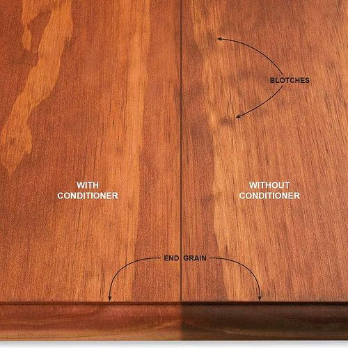 Staining Wood What To Use Instead Of Conditioner Hometalk