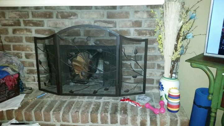 q is it possible to put tiles over the bricks on my fireplace, concrete masonry, fireplaces mantels, tiling