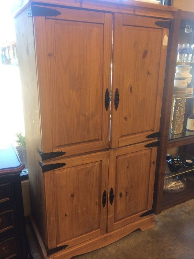 upcycled entertainment center converted to pantry, closet, diy, kitchen cabinets, repurposing upcycling, storage ideas