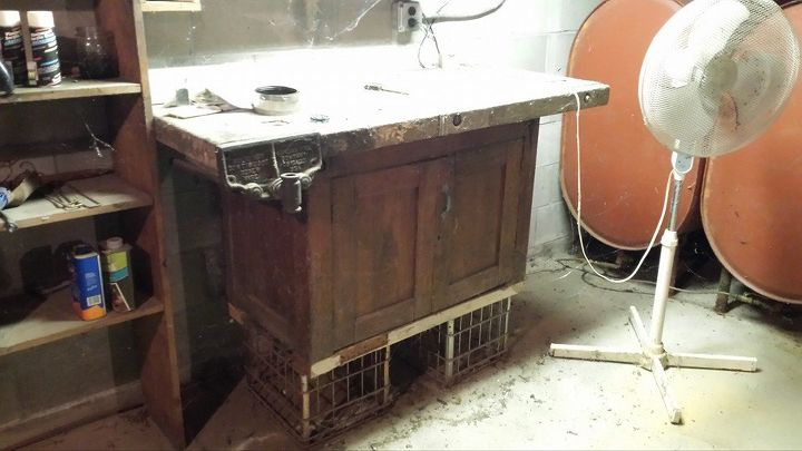 Surprising Old Workbench In The Kitchen Hometalk Pdpeps Interior Chair Design Pdpepsorg