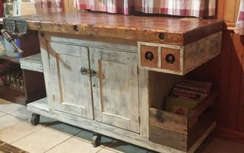 Old Workbench in the Kitchen?