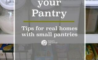 organizing a small pantry, closet, organizing, storage ideas