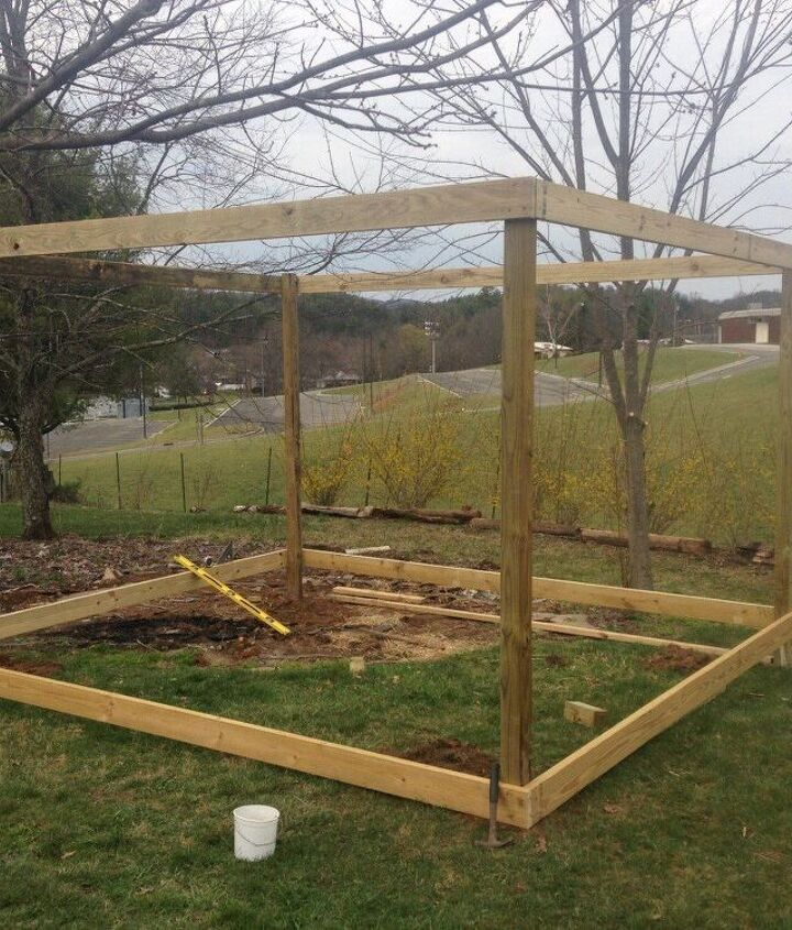 building a greenhouse from old windows, diy, gardening, outdoor living, repurposing upcycling