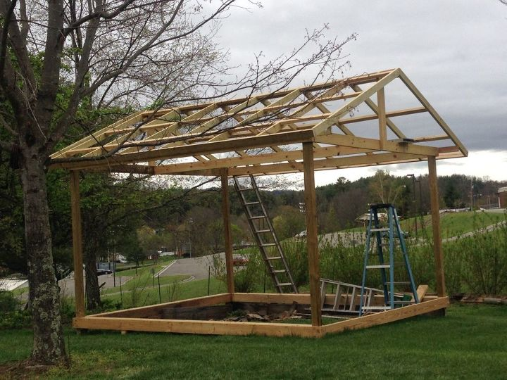 Building a Greenhouse From Old Windows | Hometalk