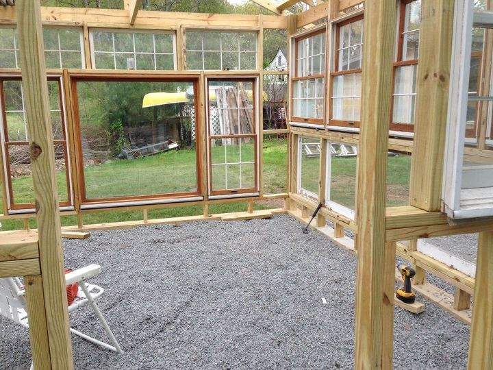 Building a greenhouse from old windows hometalk for Build your own window