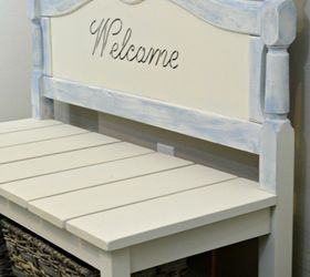 Ideas For Benches Part - 42: Diy Twin Headboard Bench With Storage, Outdoor Furniture, Repurposing  Upcycling, Storage Ideas,