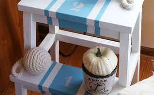 my one and only ikea hack bekvam step stool transformation, chalk paint, painted furniture