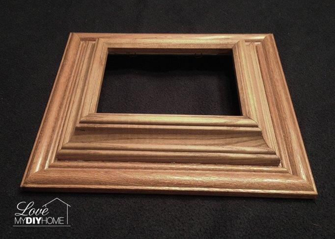 DIY Chunky Photo Frame - Use Those Old Dusty Frames! | Hometalk
