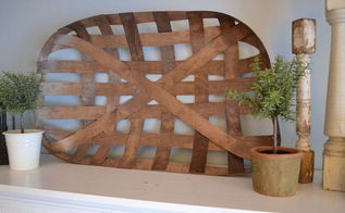 diy tobacco basket, crafts, home decor, how to