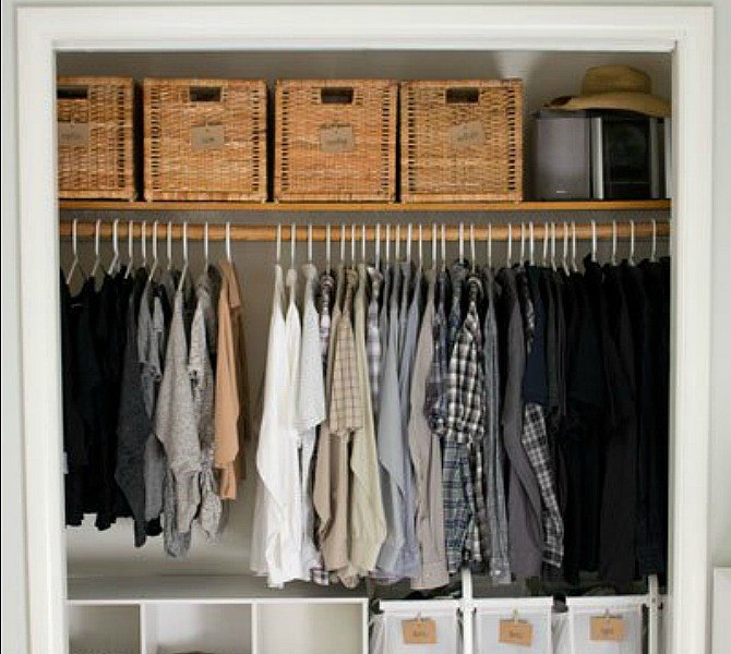 S 16 Brilliant Ways To Squeeze Much More Into Your Closet Organizing