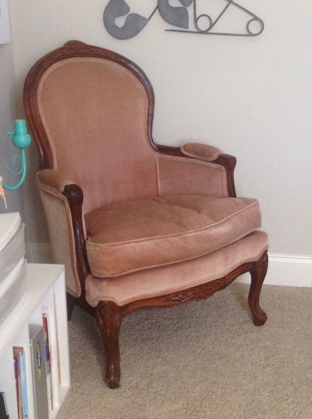 Diy Upholstery Chair First Time Hometalk